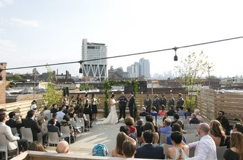 6 Rooftop Wedding Venues Brooklyn Couples Love