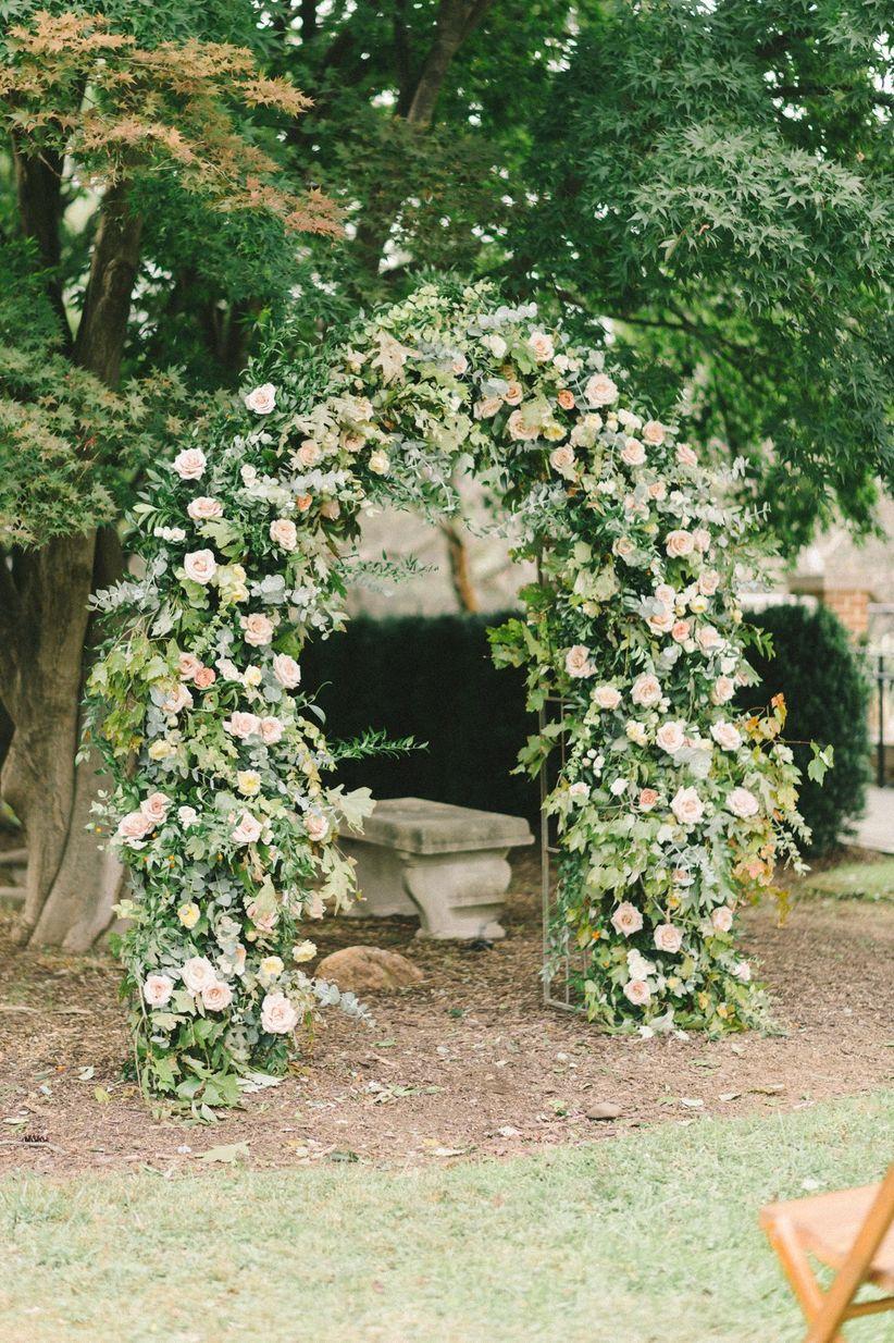 greenery arch