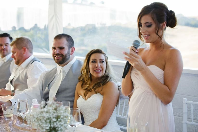 The Wedding Speech Order You Need To Know Weddingwire