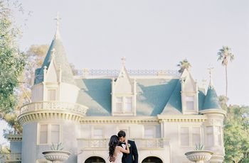 How to Have a Castle Wedding Like a Straight Up Princess
