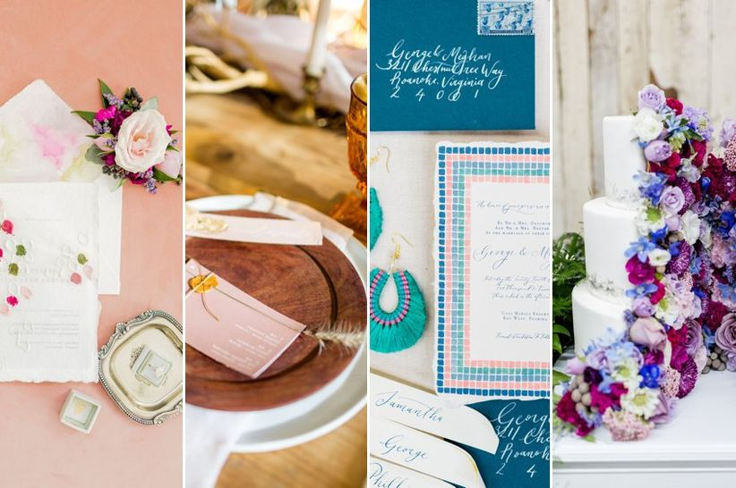 98c46c48fe44d The Wedding Colors of 2019 - WeddingWire