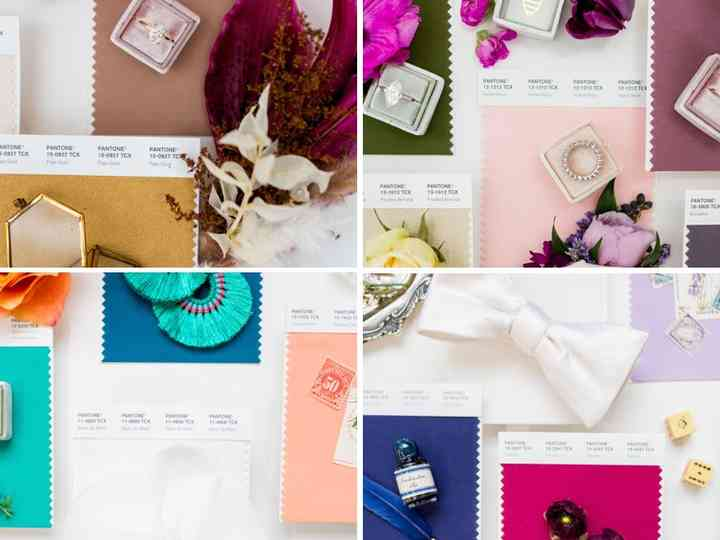 How To Pick Wedding Colors A Quiz Weddingwire