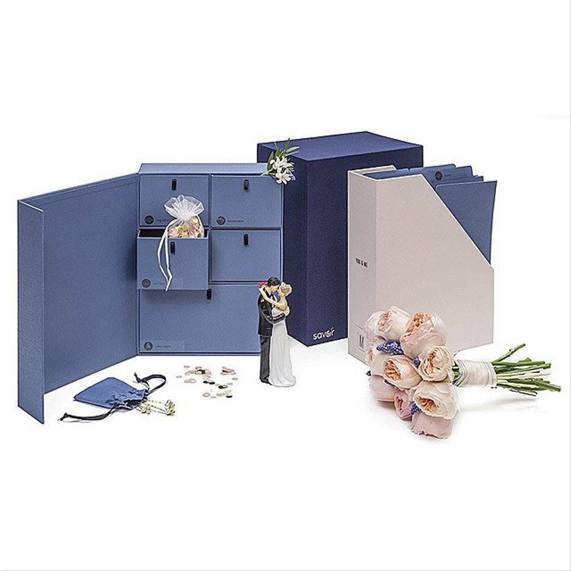 wedding library box