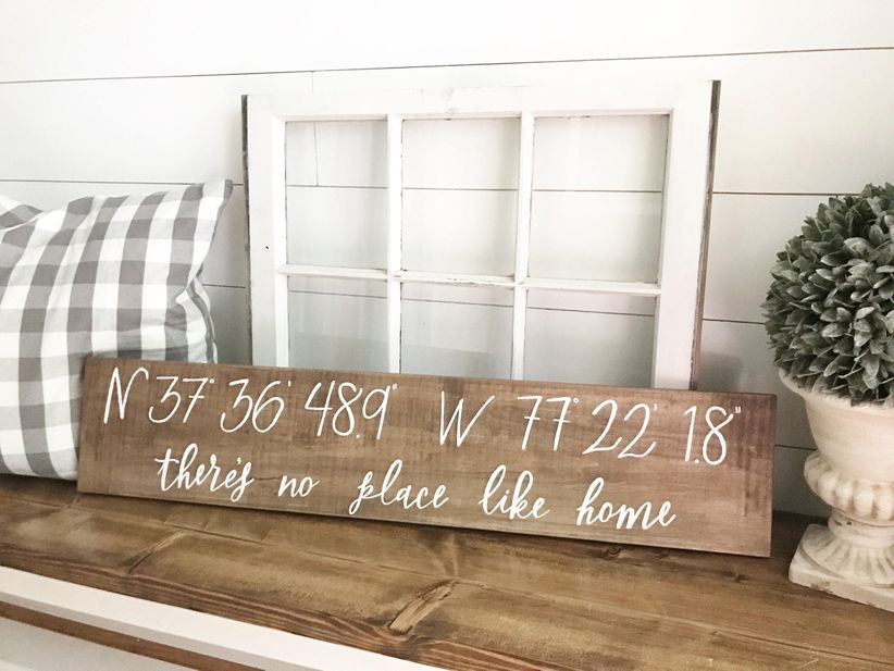 There's No Place Like Home coordinate home decoration