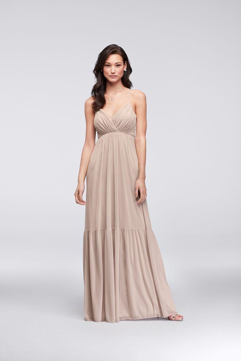 88a0a3ab1e 11 Boho Bridesmaid Dresses for a Whimsical Affair - WeddingWire