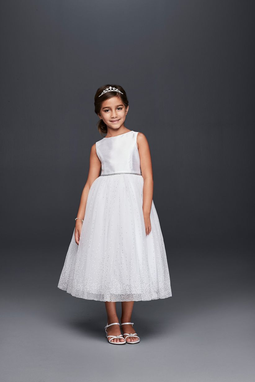 53ccfddd33c 13 Flower Girl Dresses to Match Your Bridal Party Style - WeddingWire