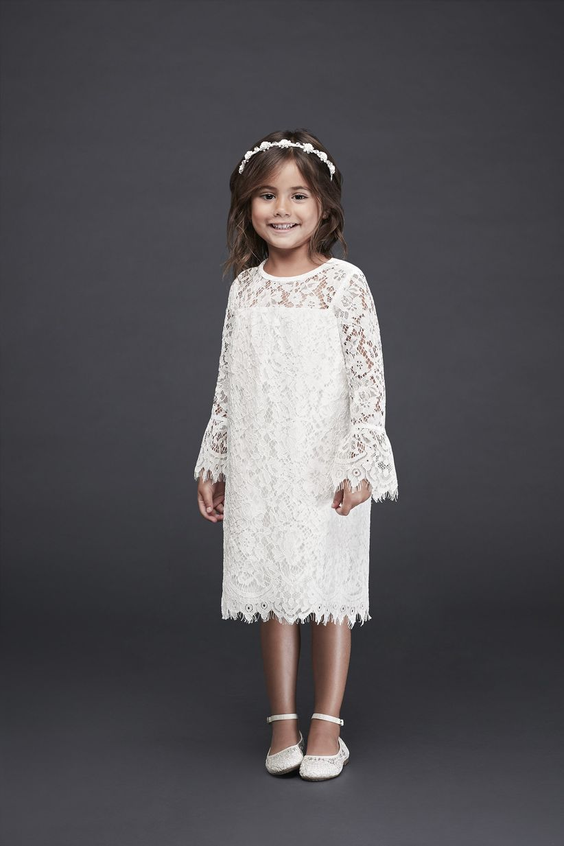 7e529210edc How cute is this blush flower girl dress  Complete with a tulle ball gown  skirt