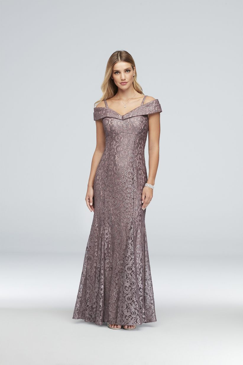 Davids Bridal Navy Blue Dress Mother Of The Bride