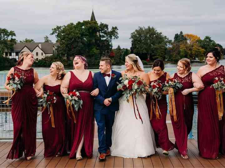 10 Romantic Bridesmaid Dresses Your Maids Will Love