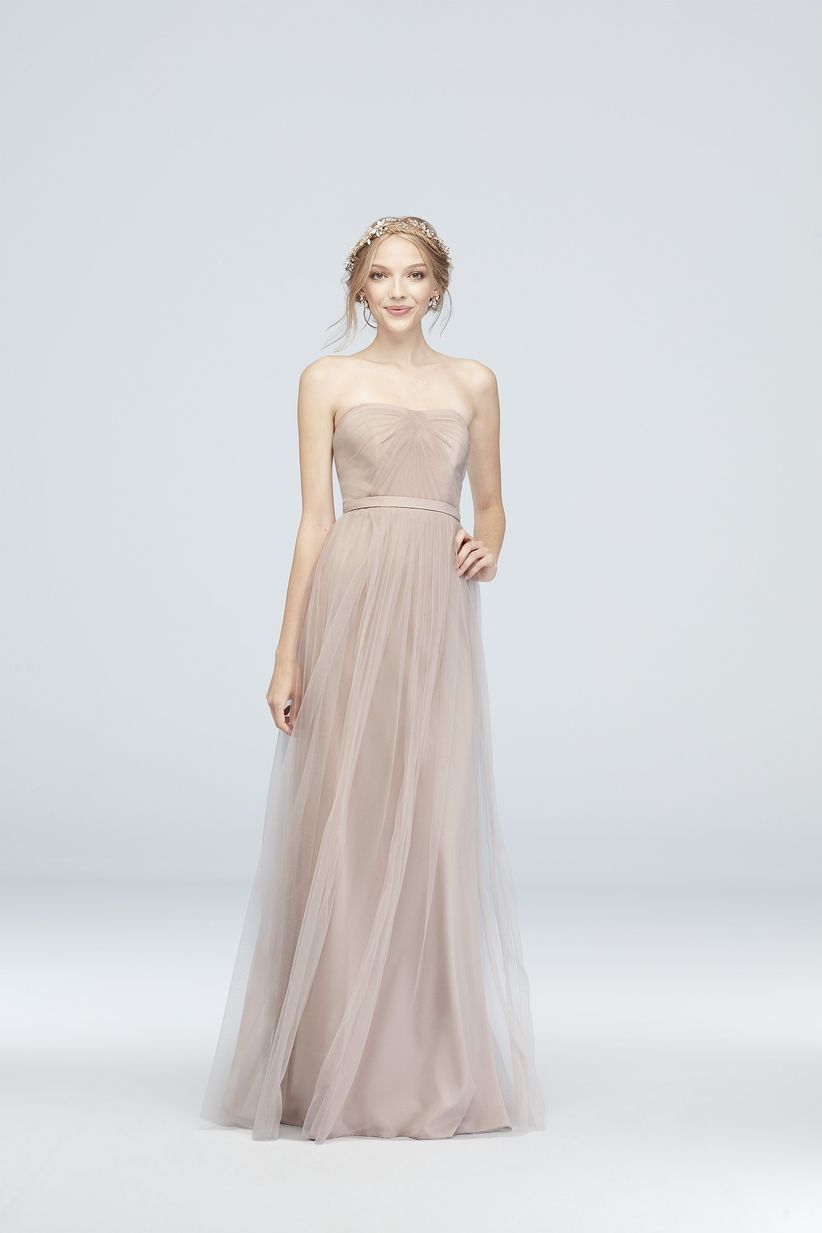 b5e70ed44dc These romantic bridesmaid dresses are meant for a wedding that s filled  with candles