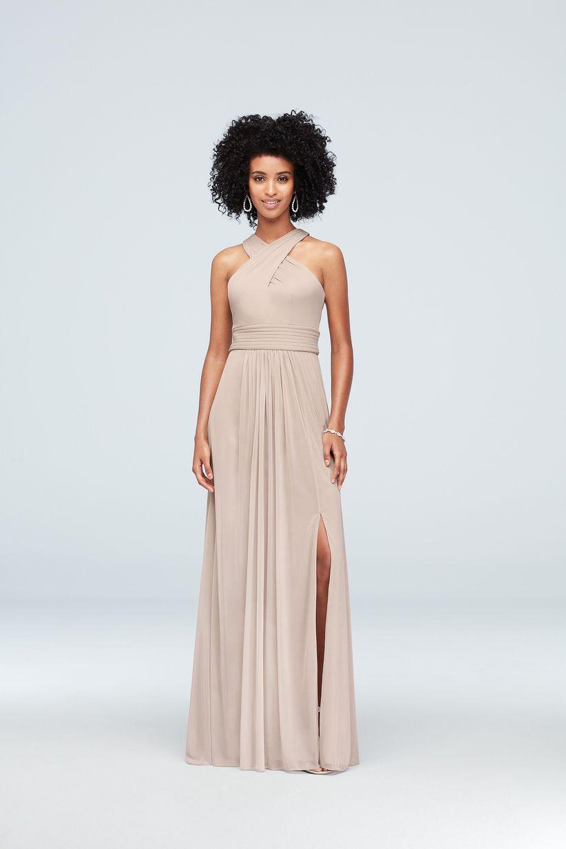 5a0c8745f7da 10 Romantic Bridesmaid Dresses Your 'Maids Will Love - WeddingWire
