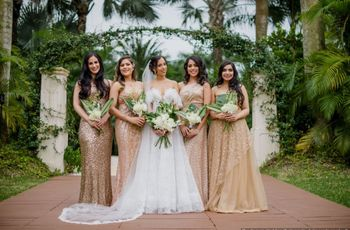 Should Your Bridesmaids Choose Their Own Dresses?