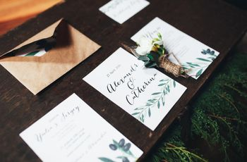 What NOT to Include on Your Wedding Invitation