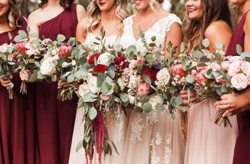 27 Red Wedding Theme Ideas to Steal for a Bold Color Palette