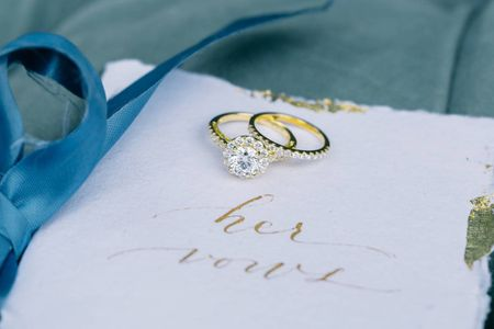 8 Ways to Pair a Wedding Band With Every Type of Engagement Ring