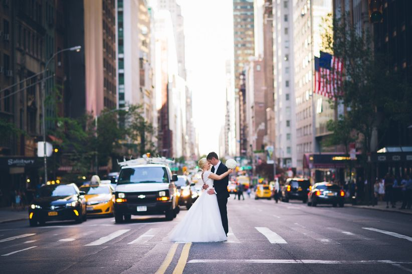 couple nyc wedding
