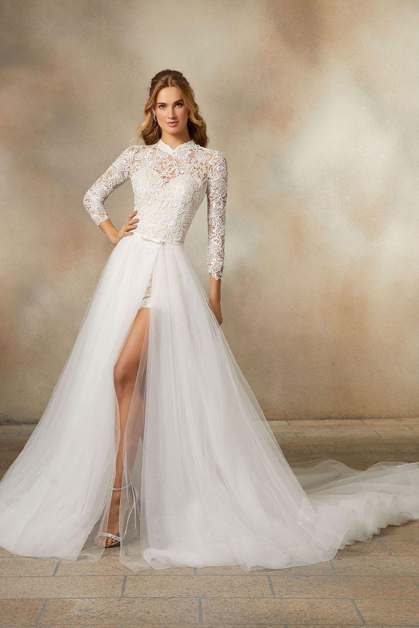 poesy wedding dress morilee