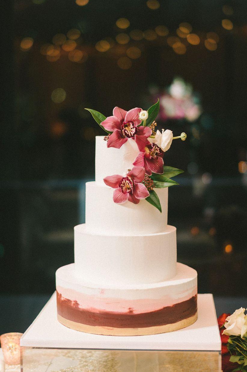 pastel de boda floral