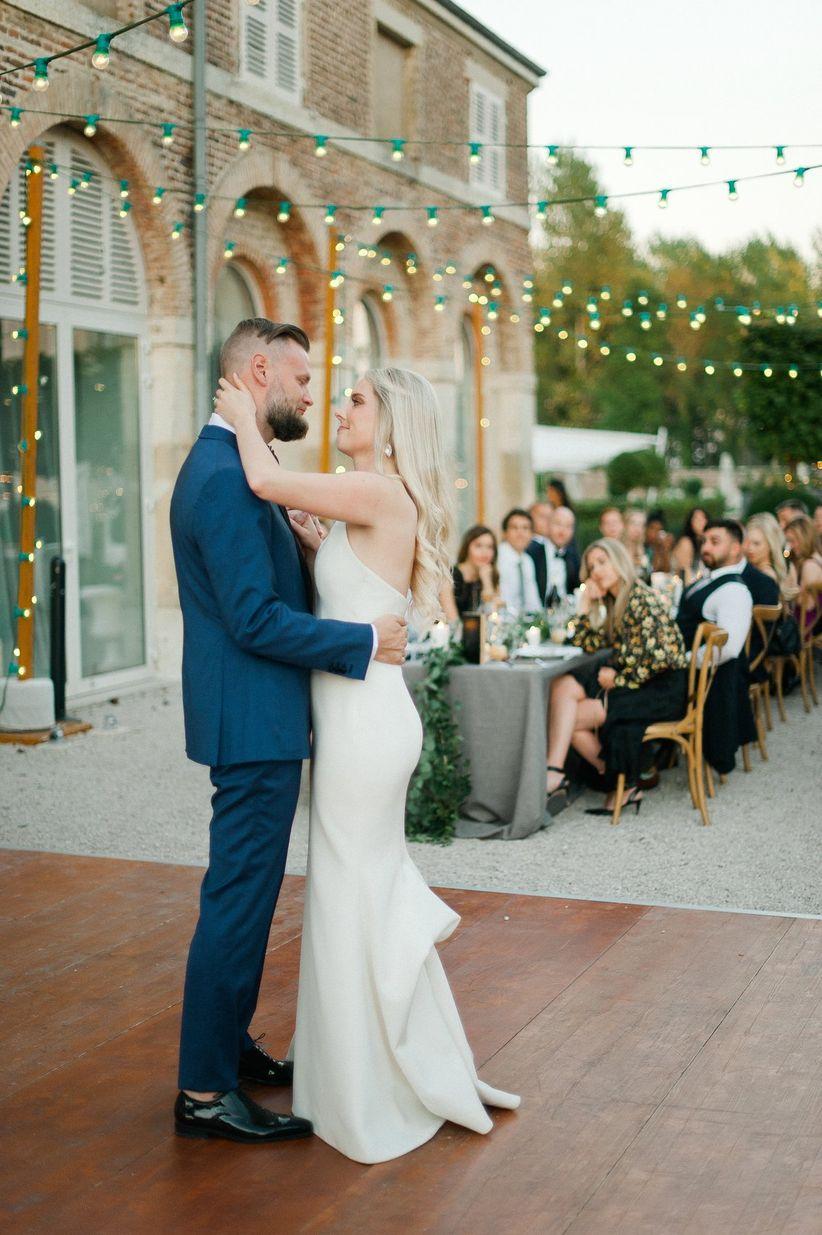 boda romántica primer baile