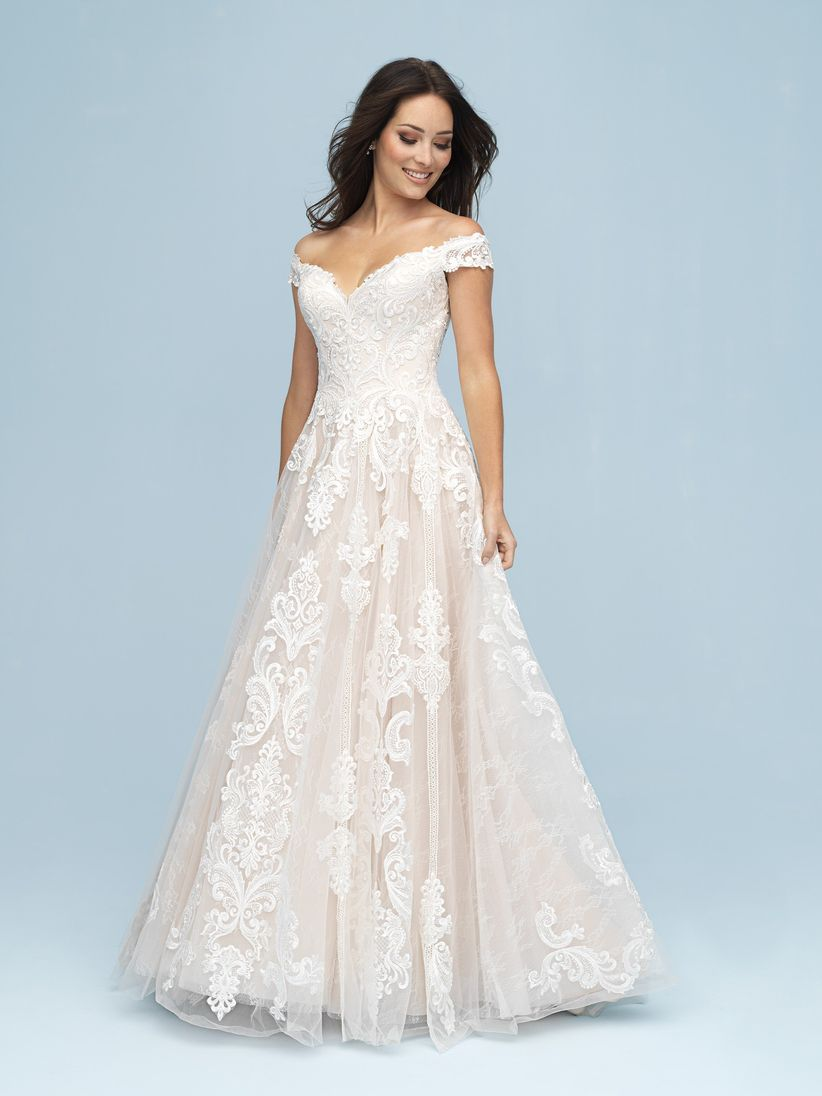 b95eb349bc2 The Top 5 Wedding Dress Silhouettes Defined - WeddingWire
