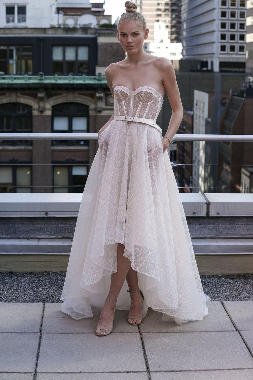 788553f94bfd The Trendiest Wedding Accessories from Bridal Fashion Week - WeddingWire