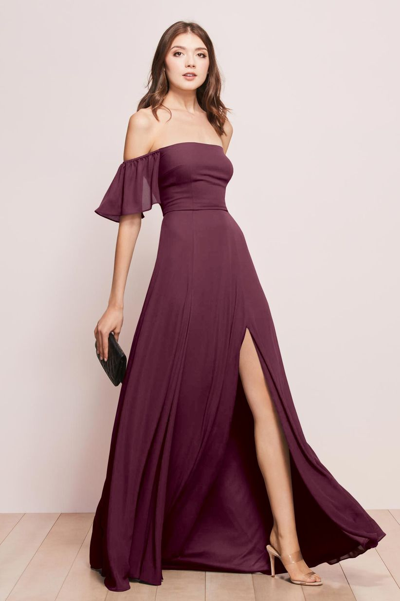 a3deb822ec3 Lilac And Silver Bridesmaid Dresses