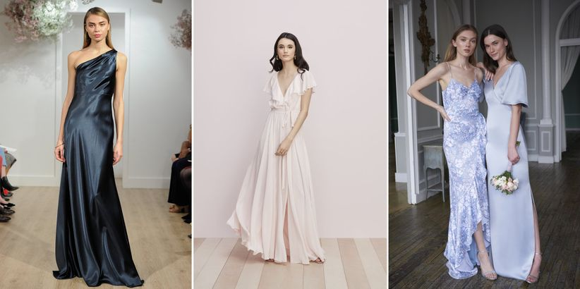 7aa1de0ec21 Need to outfit your bridesmaids so that they look just as fabulous as you  do on the big day  We re sharing the top trends to watch for bridesmaid  dresses in ...