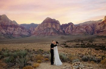 Desert Weddings Are Totally a Thing — Here's How to Nail the Style