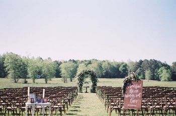 The Prettiest Outdoor Wedding Venues in Birmingham, AL