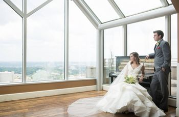6 Rooftop Wedding Venues in Birmingham, AL With Skyline Views