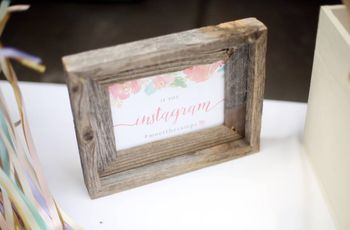 11 Wedding Hashtag Sign Ideas for the Best Guest Snapshots