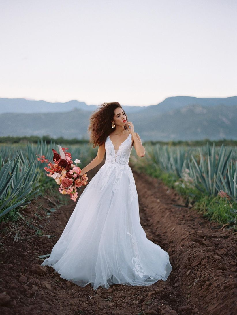 wilderly adara wedding dress