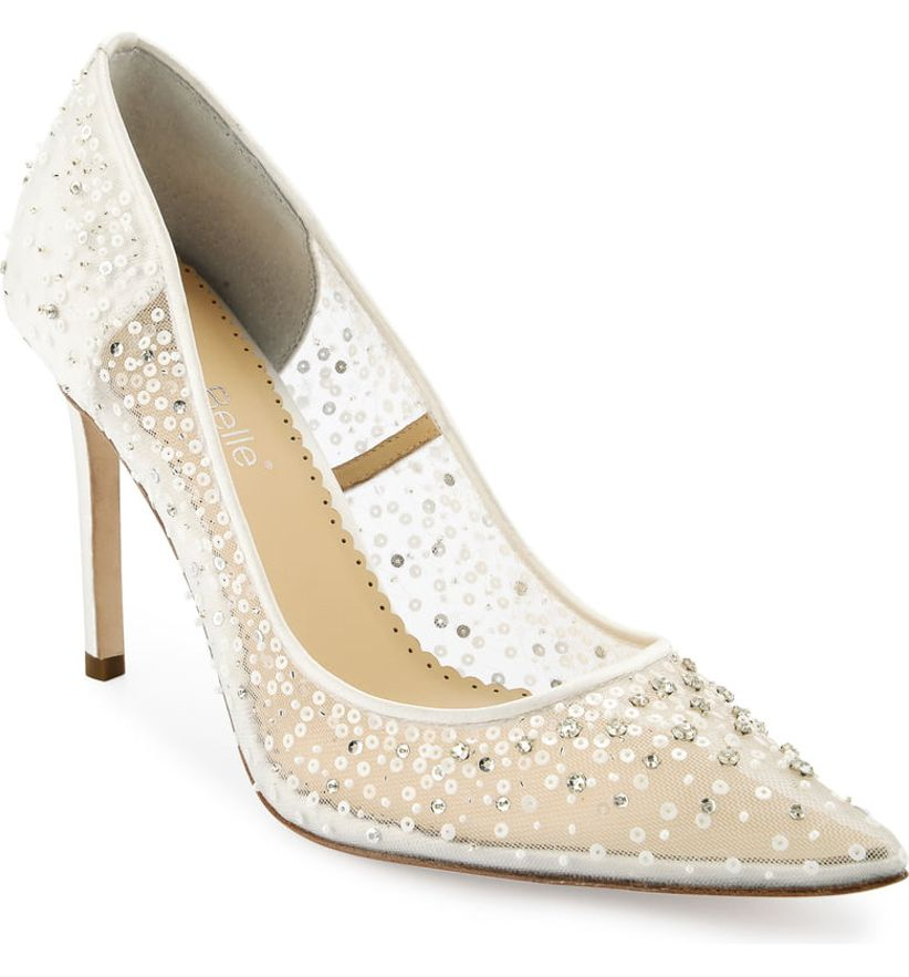 bella belle elsa sequin pumps