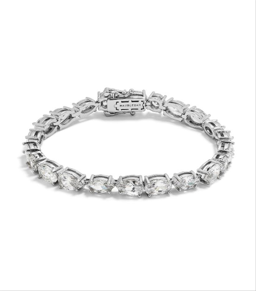 baublebar cubic zirconia bracelet