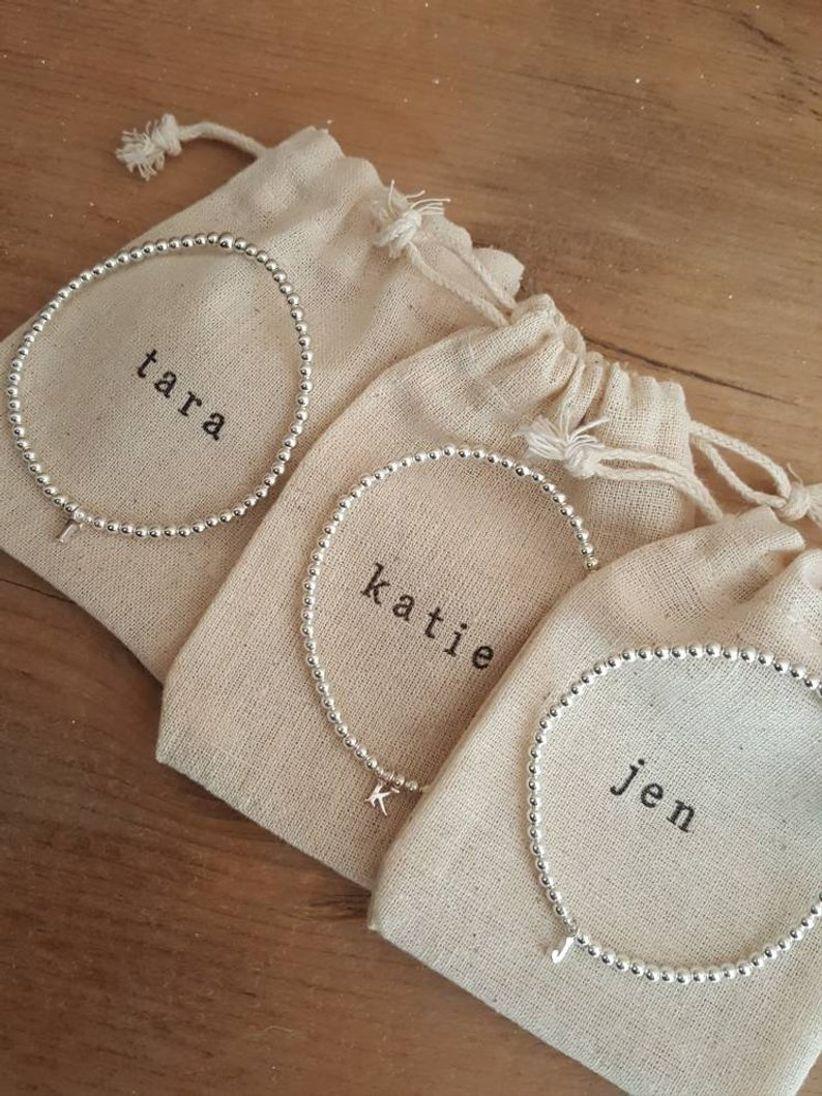 chayote jewelry bridesmaid bracelet set