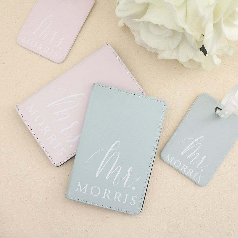 passport holders and luggage tags