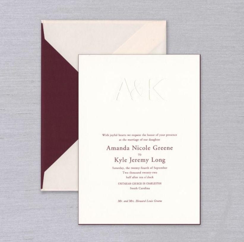 vera wang delaney invitations
