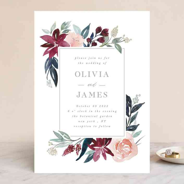 10 Popular Types of Wedding Invitation Paper and Printing ...