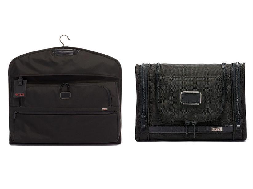 garment bag and dopp kit