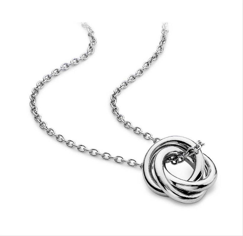 blue nile knot necklace