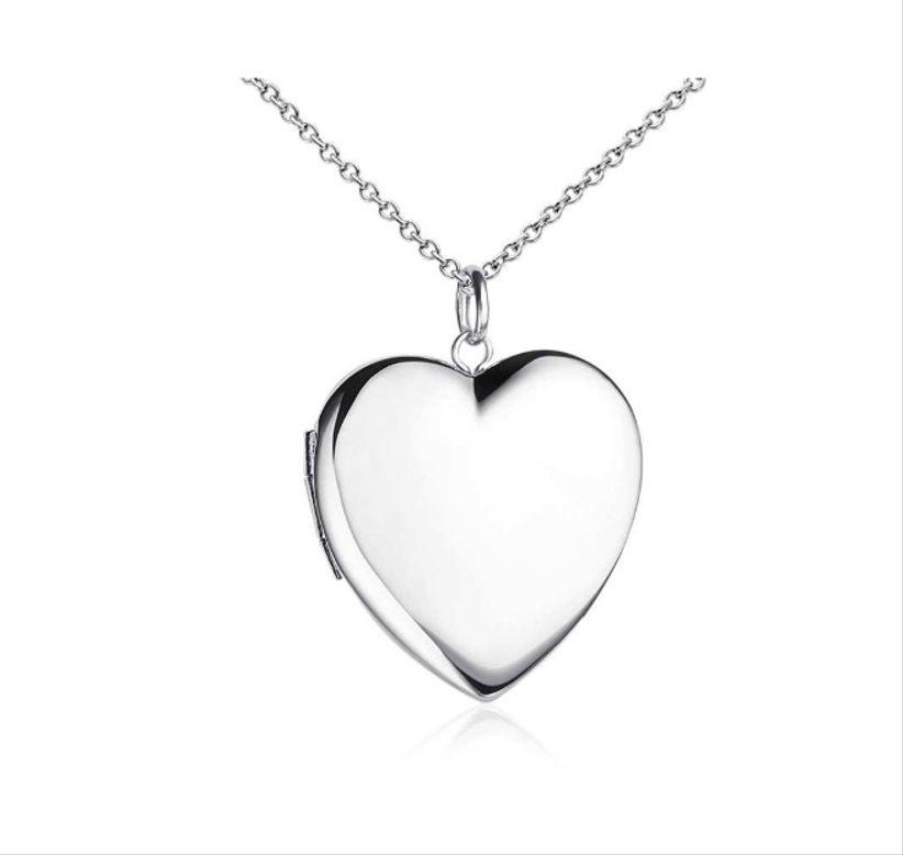 blue nile heart locket