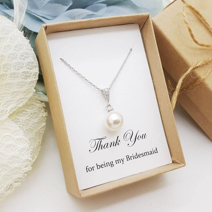 1992117d2a91a 15 Bridesmaid Necklaces You'll Totally Want to Steal - WeddingWire
