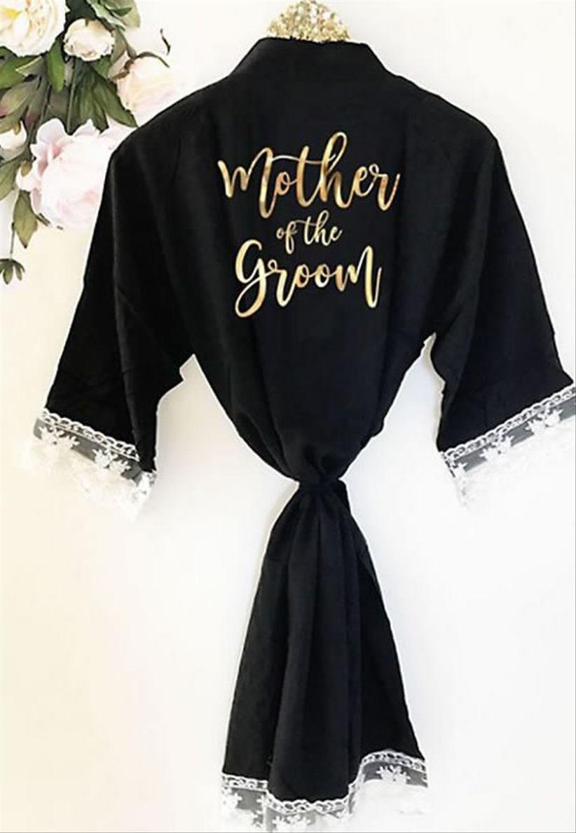 davids bridal robe