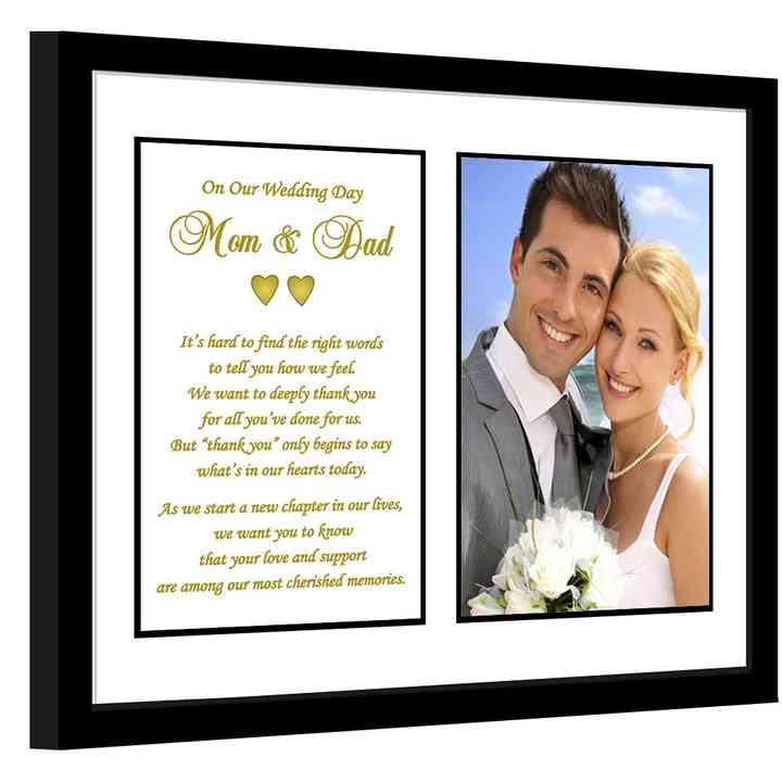 21 Truly Sweet Wedding Gift Ideas For Your Parents Or Parents In Law Weddingwire