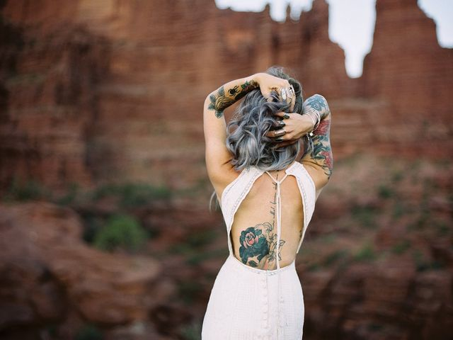 How to Put Your Own Twist on a Bohemian Wedding Dress
