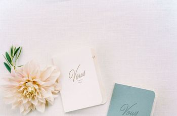 25 Vow Books That Double as Wedding Day Keepsakes