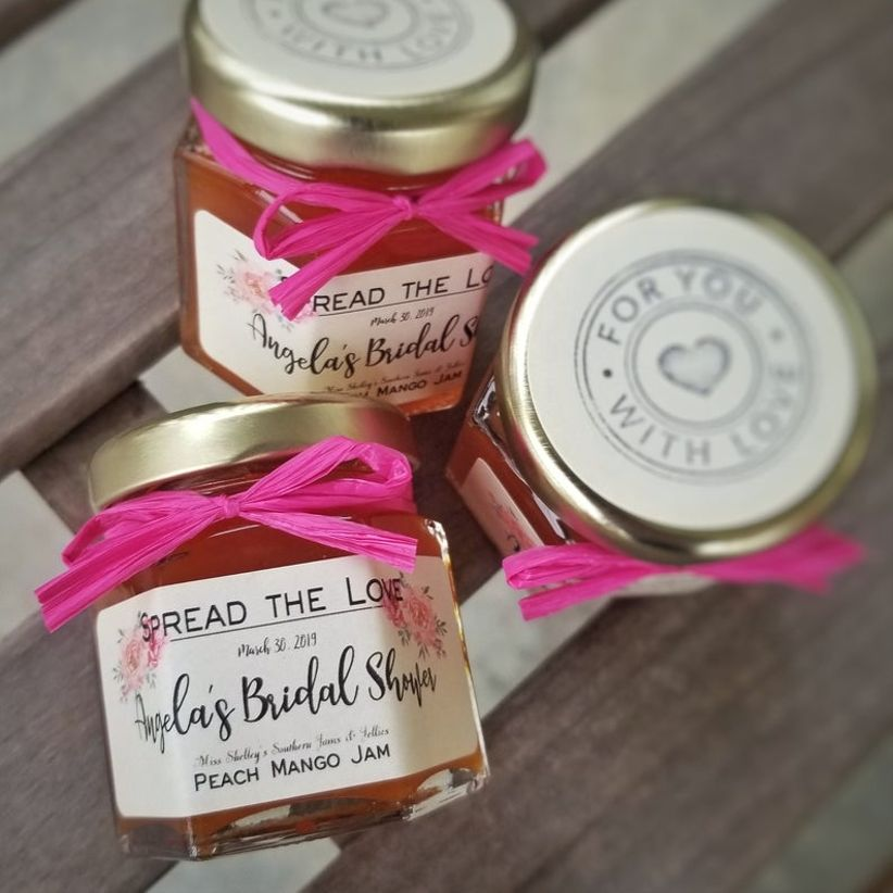 jam bridal shower favors