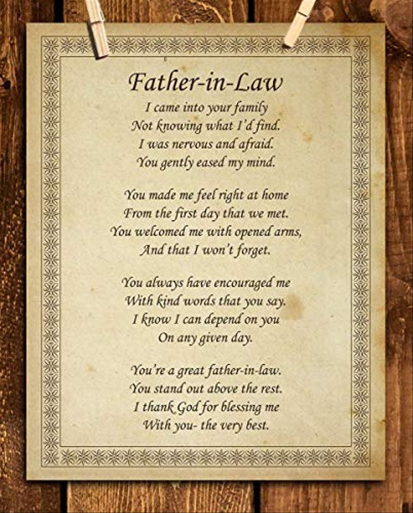 father in law poster