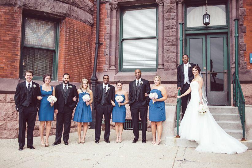 wedding party indianapolis