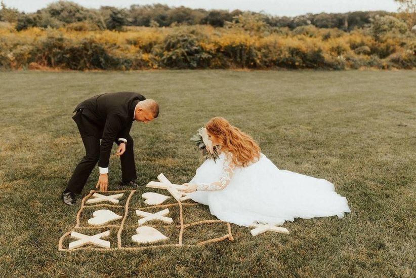 wedding tic tac toe